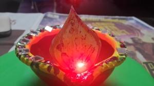 Diya: An Earthen Lamp, lamp made from mud