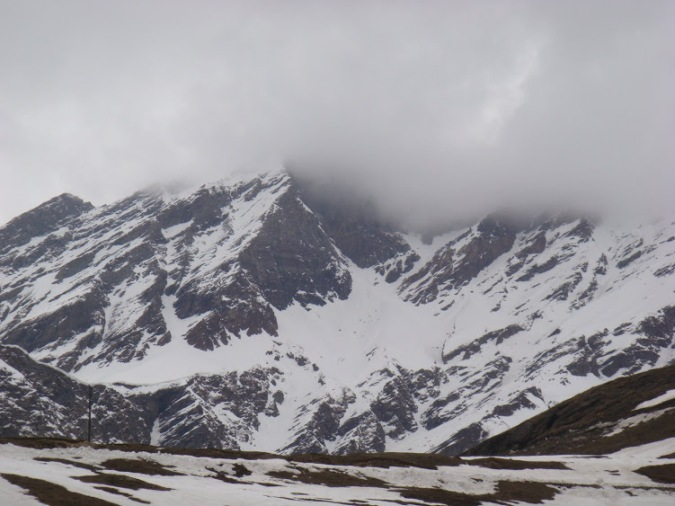 Snow Filled Mountains: Himlayan Range