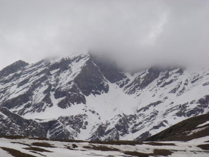 Snow Filled Mountains: Himlayan Range