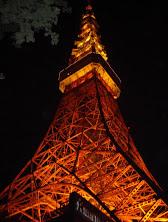 Tokyo Tower at Night @http://agileopedia.com