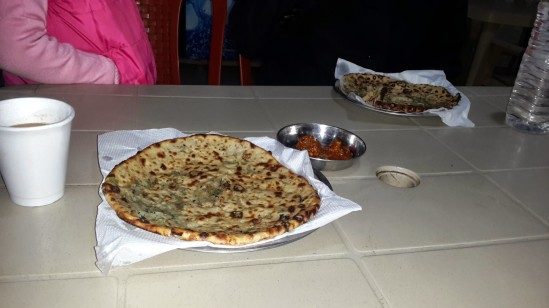 Country Side Restaurant- typically called Dhaba serving Baked Stuffed Parathas(Indian Bread) - @http://agileopedia.com/