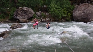 River Crossing at Manali Hills over River Beas @http://agileopedia.com/