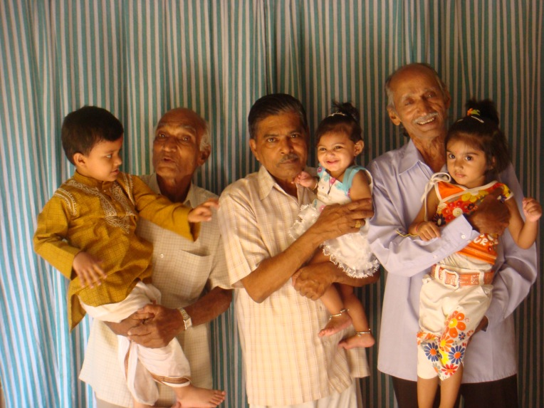 Kids with their GrandPas @http://agileopedia.com/